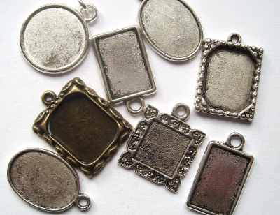 Resin Jewellery Blanks