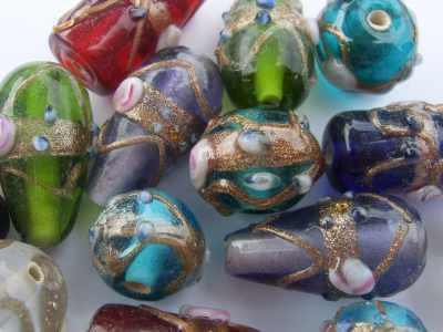 Venetian Style Glass Beads
