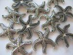Starfish Large Antique Silver x1