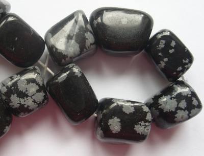 Snowflake Obsidian Nugget x1