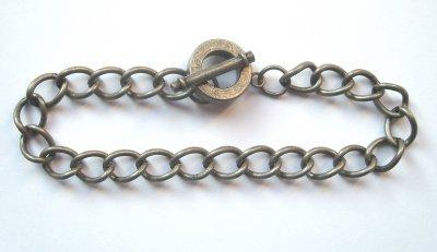 Chain Bracelet Antique Silver x1
