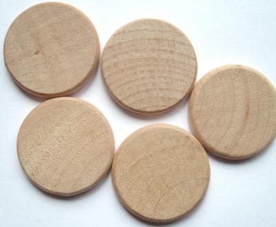 Wood 38mm Circle Craft Shape x1