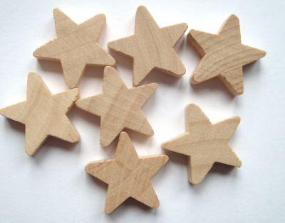 Wood 18mm Star Craft Shape x1