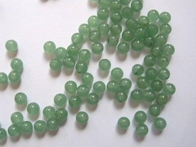 Green Aventurine Round Beads