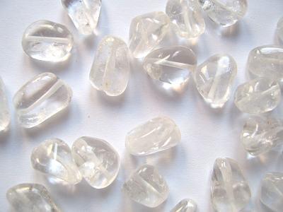 Rock Crystal Nugget 18x14mm x1