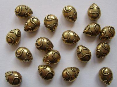 Mouse Antique Gold x1