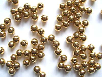 Memory Wire 5mm Capping Beads x6