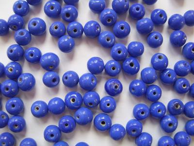 Round Opaque Royal Blue x20